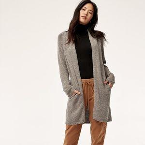 Vetus Sweater Open-front, knit cardigan-XXS